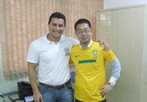 With Prof. Carlos
