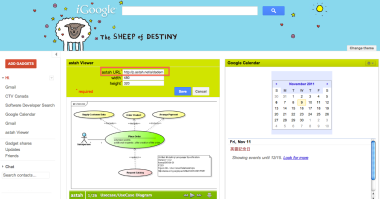 Astah Viewer Gadget on iGoogle