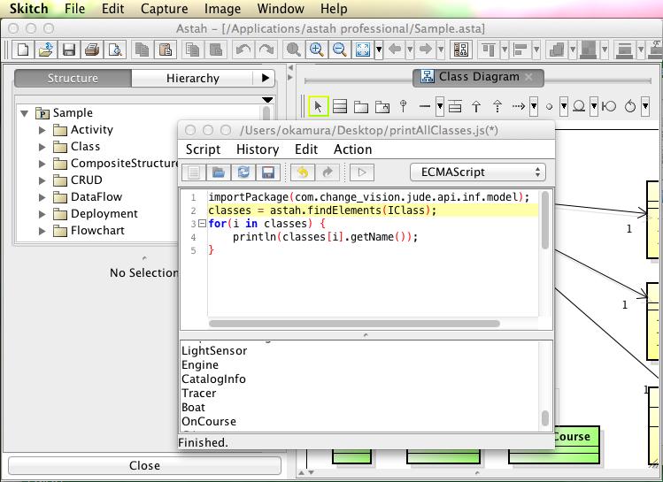 Introduction of astah script plug in astah in 5min astah script plug in ccuart Images