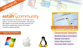 Our free edition - Astah Community can be used as a viewer of Astah models