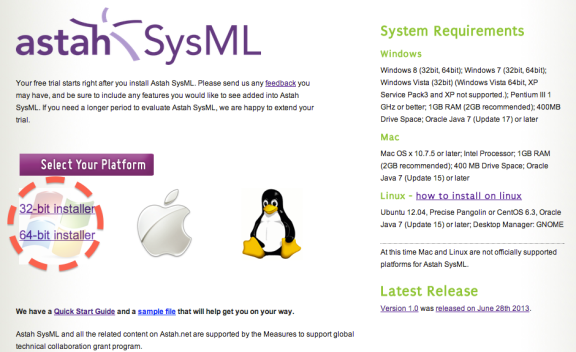 Astah_SysML_Download