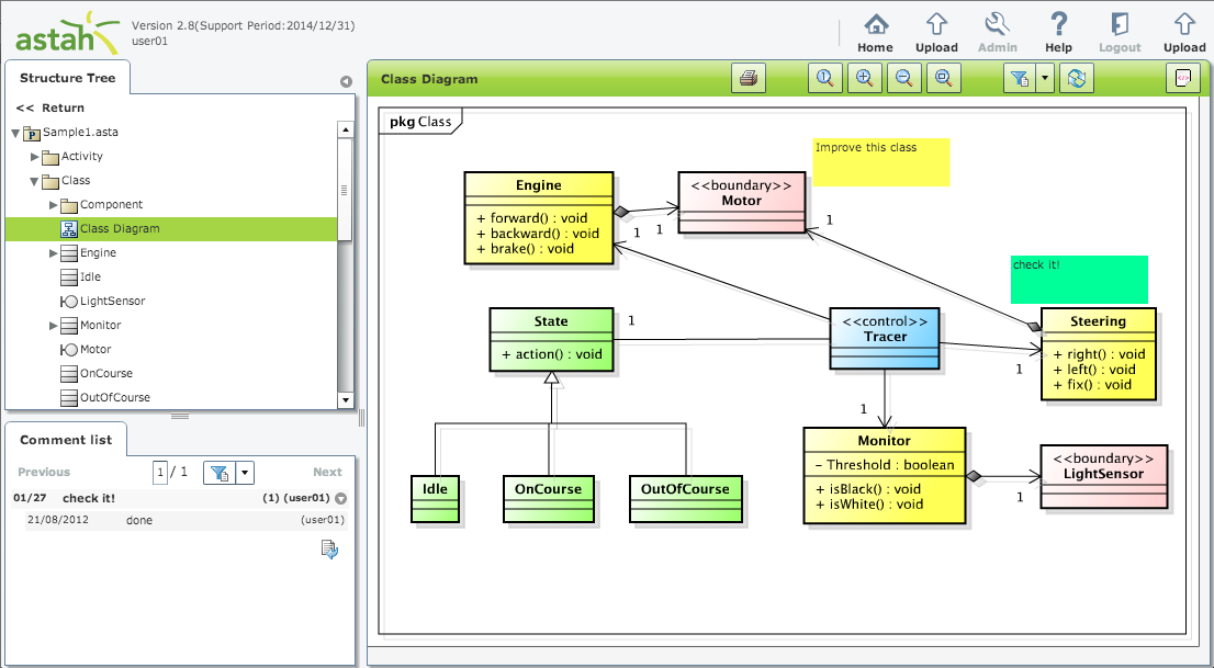 astah share 2 8 released upload view diagrams on the web browser rh astahblog com web browser dialog uwp web browser architecture diagram
