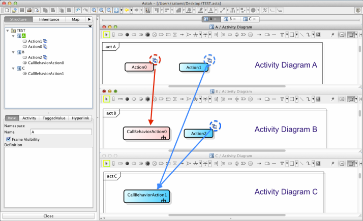 UML Astah Activity Diagram