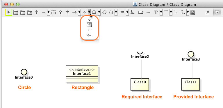How To Create Interfaces In Rectangle Shape