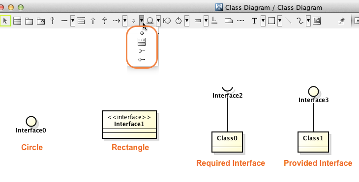 How to create interfaces in rectangle shape astah in 5min how to create interfaces in rectangle shape ccuart Gallery