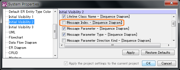 How to remove the message numbers in Sequence diagram ...