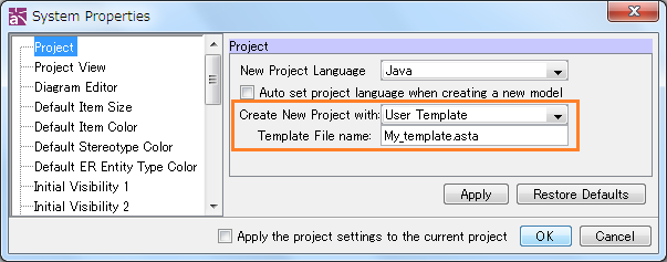 "How to customize a ""deafult file"" that opens when creating a new ..."