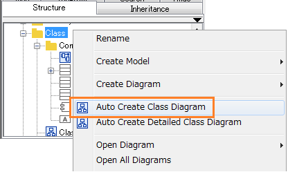How to auto-create UML Class diagrams and ER diagrams | Astah in 5min