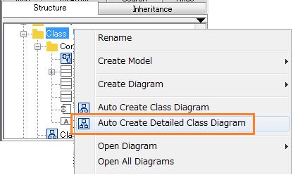 Class auto-create