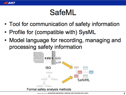 SafeML, safety-critic systems development